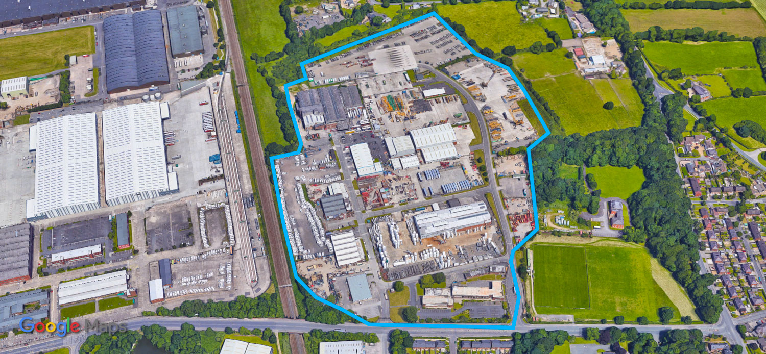 where we are - Leyland Business Park