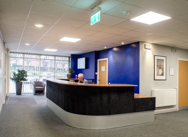 Centurion House reception